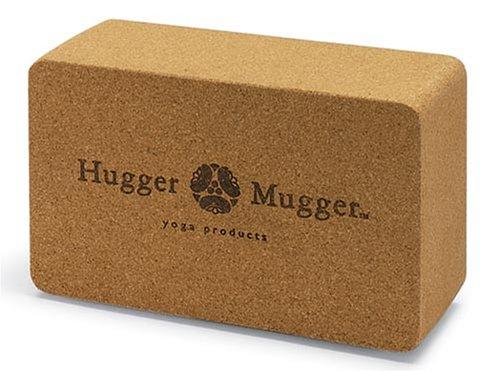 Hugger Mugger Cork Yoga Block front-411986