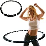 Weighted Massaging Fitness Yoga Hula Hoop