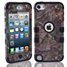 MOKOU Tree Camo Design Hybrid Cover Case for iPod Touch5