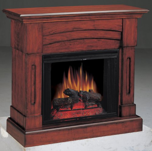 Berkeley Electric Fireplace in Oak [Kitchen] picture B0014R90SQ.jpg