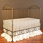 Bratt Decor chelsea lifetime crib antique silver