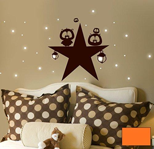 Graz-design-sticker-mural-dcoratif-motif--pois-motif-toiles-fluorescence-m939-choix-de-couleur