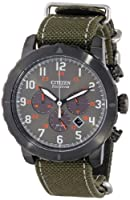 Citizen Men's CA4098-14H Military Green Watch by Citizen