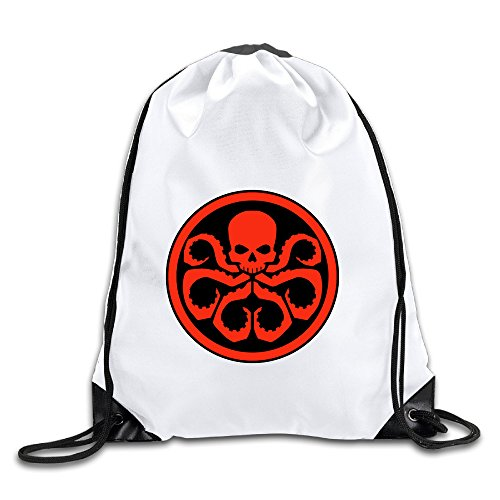 [Kamici Hydra Logo Drawstring Backpack Sackpack Bag For Men & Women] (Cyberchase Costumes)