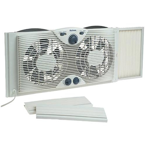 Holmes Window Fan : Holmes twin window fan varaosat crompton greaves