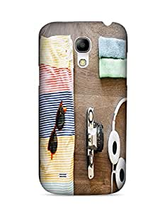 Bagsfull Designer Printed Matte Hard Back Cover Case for Samsung Galaxy S4 MINI 9190