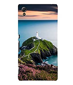 printtech Watchtower Sea Ocean Back Case Cover for Sony Xperia Z4::Sony Xperia Z4 E6553