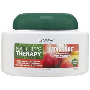 L Oreal Natures Therapy Mega Moisture Nurturing Creme 16 oz