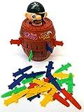 Brigamo 7028 - Pop Up Pirat, Geschicklichkeitsspiel für Kinder - 2