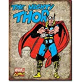 Thor - Retro Cover Panels Distressed Retro Vintage Tin Sign