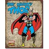 Thor - Retro Cover Panels Distressed Retro Vintage Tin Sign
