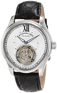 Stuhrling Original Men's 361.331X2 Tourbillon Everest Limited Edition Automatic Movement Black Watch