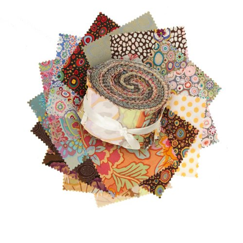 Kaffe Fassett 2.5'' Design Roll Neutral (Kaffe Jelly Roll compare prices)