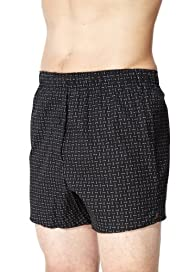 3 Pack Pure Cotton Spotted Boxers [T14-3793-S]