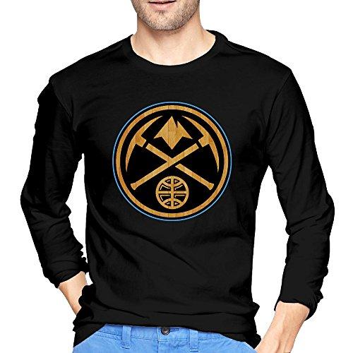 denver-nuggets-black-hardwood-basketball-long-sleeve-cotton-tee-shirts