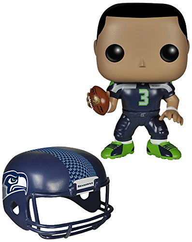 Funko POP NFL: Wave 1 - Russell Wilson Action Figures - 1