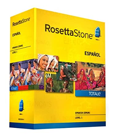 Rosetta Stone Version 4 TOTALe: Spanish (Spain) Level 1 (Mac/PC)