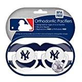 MLB New York Yankees Pacifiers 2 Pack