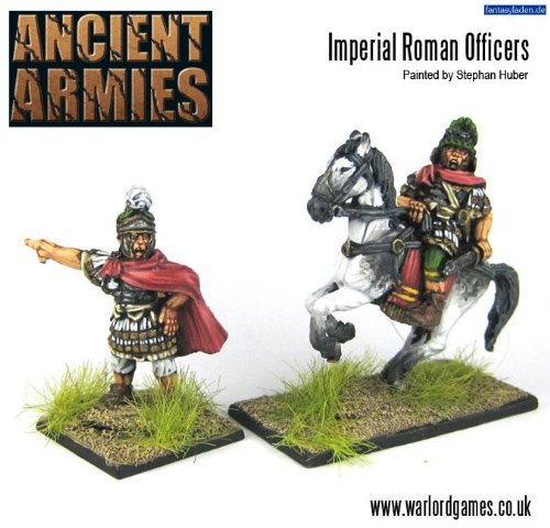 28mm Ancients - Imperial Roman Officers (2) - 1