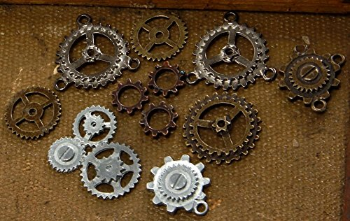 Elope Bag of Gears - Steampunk Costume Decoration Accessory