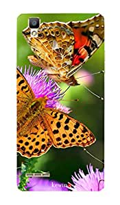 MBC(HP) kewin back cover for OPPO F1 556 Two Golden Butterfly