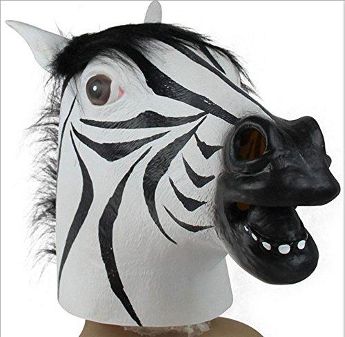 MissBeauty Horse Zebra Mask Collection (Zebra) ()