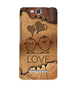Love Balloon Design 3D Hard Polycarbonate Designer Back Case Cover for Micromax Canvas Juice 3+ Q394 :: Micromax Canvas Juice 3Plus Q394