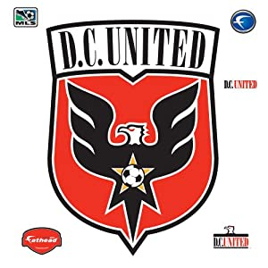 MLS DC United Logo Wall Graphic by Fathead