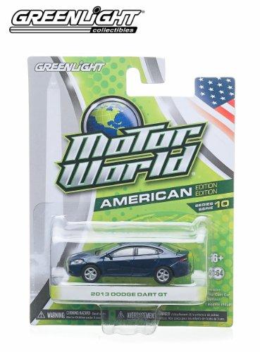 2013-dodge-dart-blue-2014-motor-world-series-10-american-edition-164-scale-die-cast-vehicle