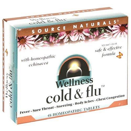 Source Naturals Wellness Cold & Flu, 48 Tabs
