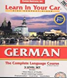 img - for German 3-Level Set: The Complete Language Course (Learn in Your Car) book / textbook / text book