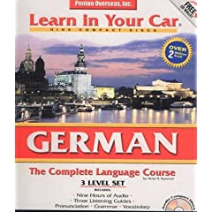 German 3-Level Set (Learn in Your Car)