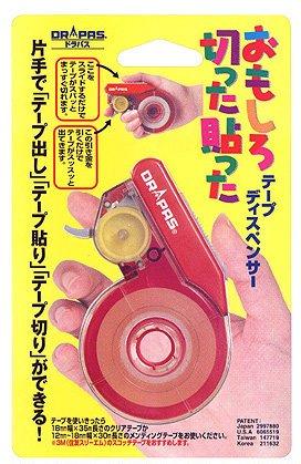 おもしろテープカッター レッド