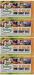 BioBag Compostable Tall 13 Gallon Food Waste Bags - 48ct (Free Shipping)