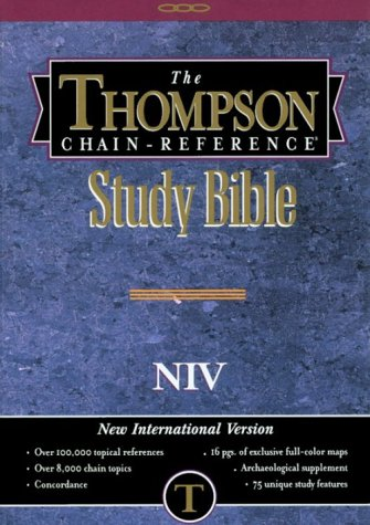 Thompson Chain-Reference Bible-NIV-Handy Size (Order #833)