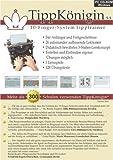 TippKönigin - 10-Finger-System Tipptrainer der neuen Generation