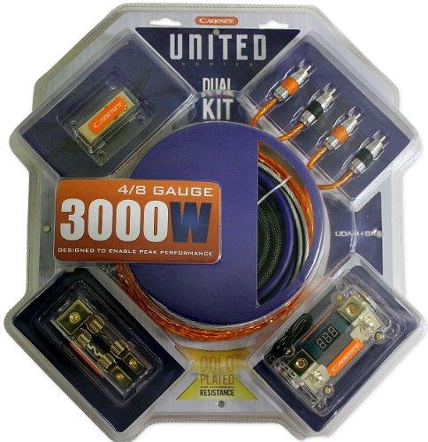 Cadence Uda4+8K 4+8 Gauge Dual Amplifier Kit