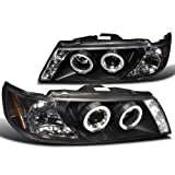 Nissan Sentra 200Sx Black Projector Head Lights