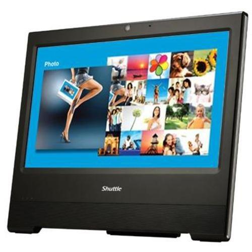 Shuttle X50 v3 15.6 inch All-in-One Barebone PC – Black (Intel Atom D2700, 1 x 2.5″ S-ATA, 2 x DDR3, Touch Screen, Passive Cooling, Intel GMA 3650 Graphics)