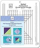 June Tailor 10x12 Perfect Half Square & Quarter Square Triangle Ruler