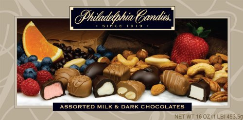 Philadelphia Candies Assorted Milk and Dark Boxed Chocolates