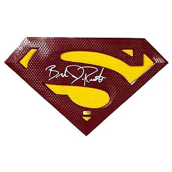 Brandon Routh Autographed Superman Returns Emblem Prop at Amazon's