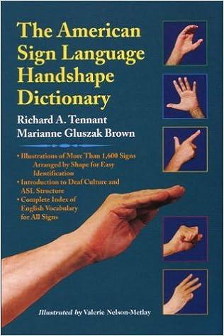ASL Handshapt Dict. cover image