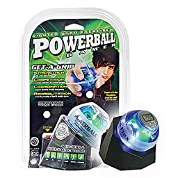 DFX Powerball Gamer Blue With Docking Station & Speed Meter