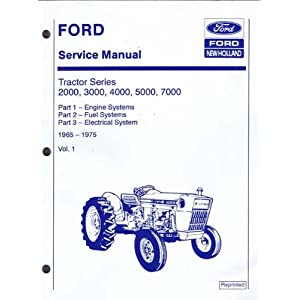 ford service manual tractor series 2000 3000 4000 5000. Black Bedroom Furniture Sets. Home Design Ideas