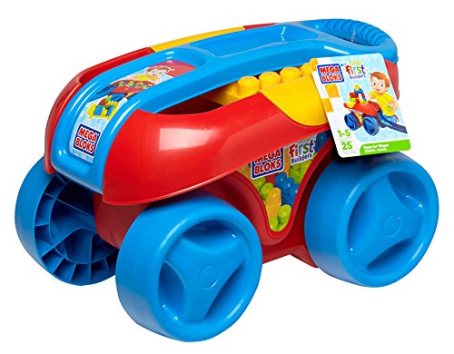 Mega Bloks First Builders Build'N Go Wagon (Classic) front-478388