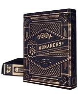 Theory11 Monarch Playing Cards (Black, 3.5 x 2.5-Inch) & Bicycle Carte da gioco