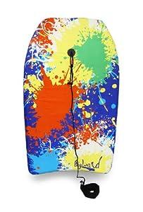 Colorful Paint Splatter Print Body Board 33 in.