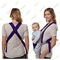 PETRICE Premium Ultra Comfortable Baby Carrier Baby Sling (Purple)