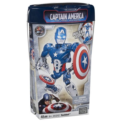 Mega Bloks Captain America Build-A-Figure